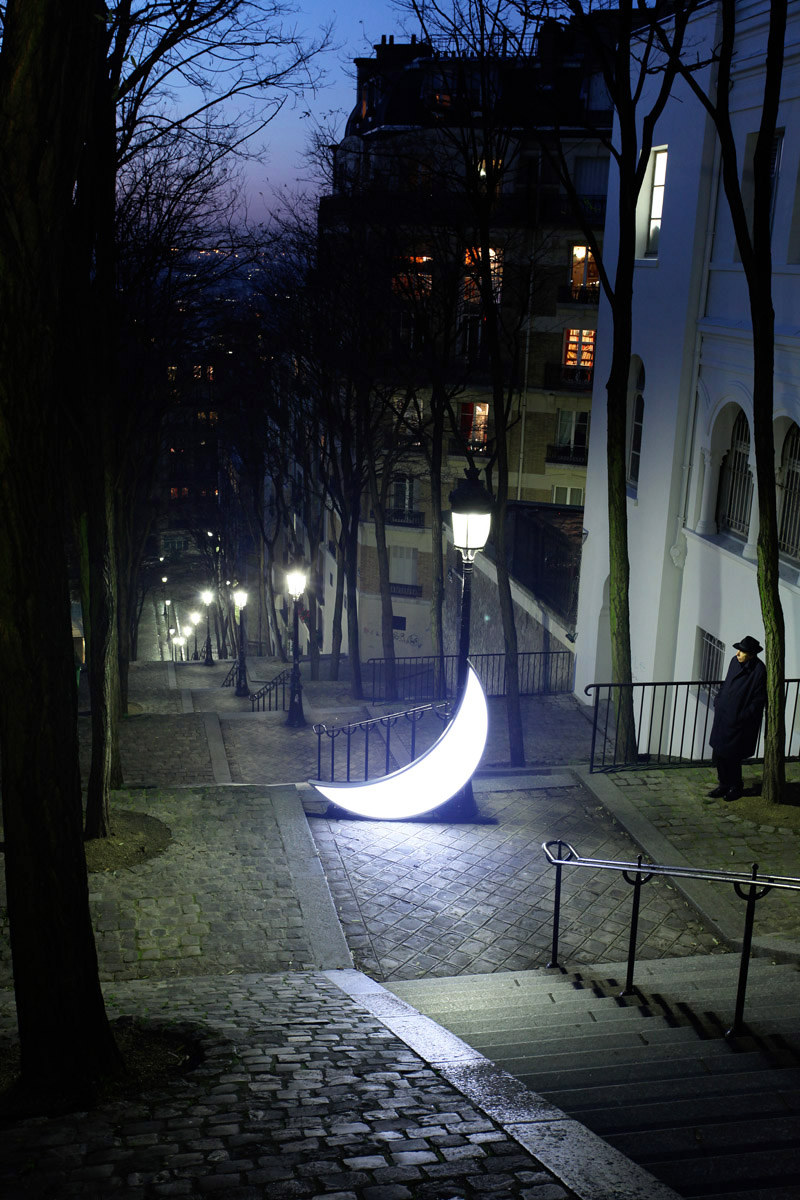 Brassaï's moon