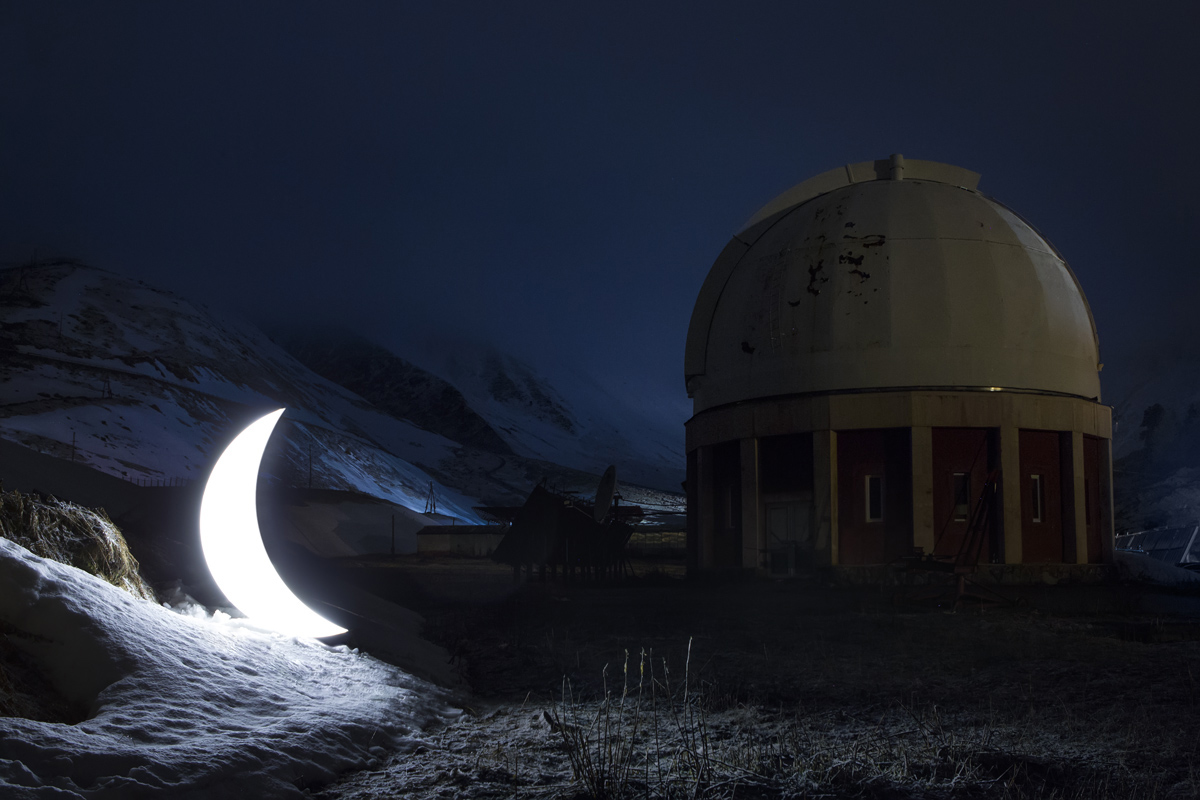 Journey of the Private Moon in Kazakhstan, 2013