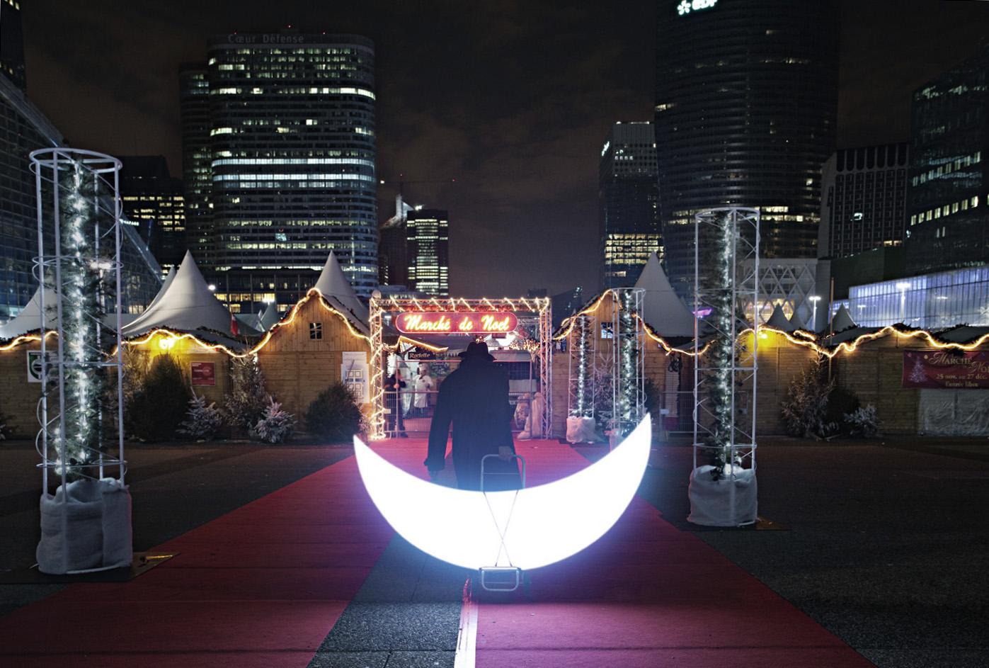 Moon and Christmas