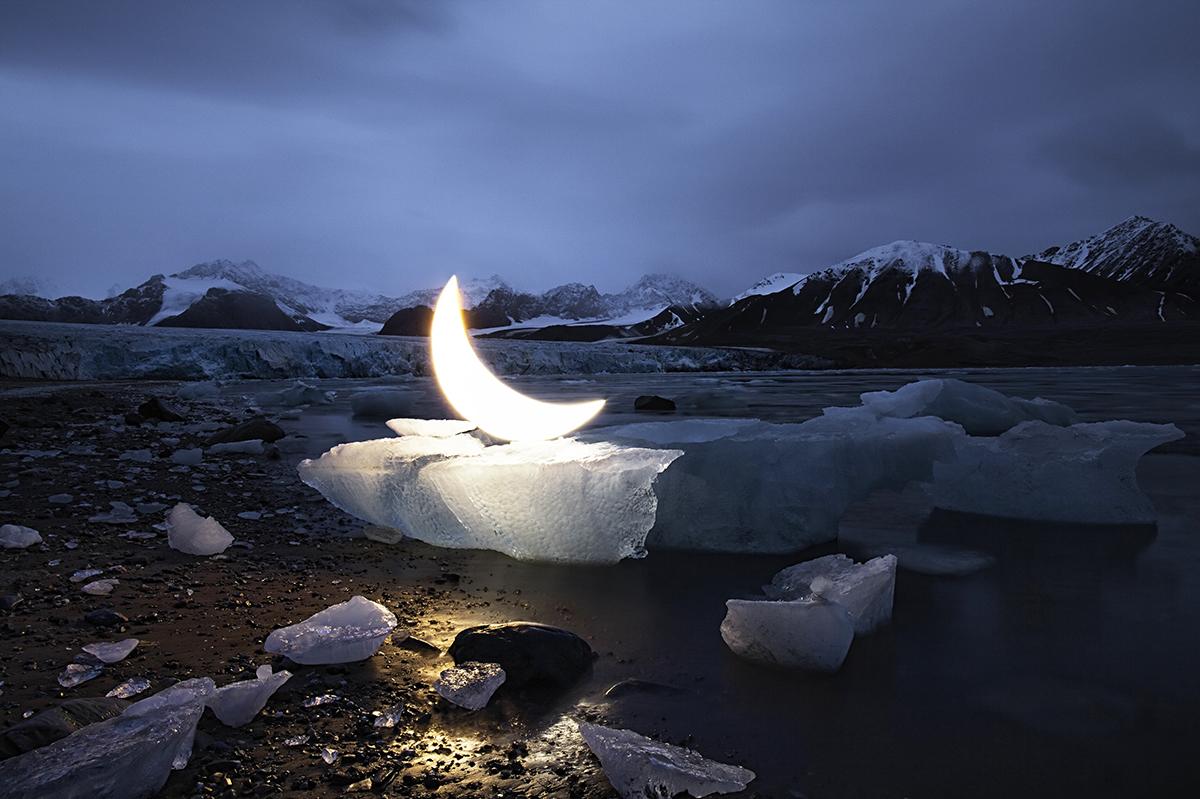 Moon Ice